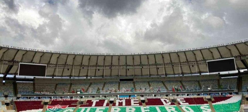 Fluminense estreia na quinta-feira na Libertadores contra o River Plate, no Maracanã. O jogo não terá presença de público devido à pandemia