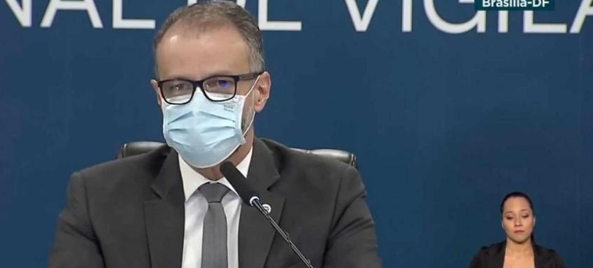 Antônio Barra Torres, presidente da Anvisa, fez um pronunciamento  para rebater críticas do laboratório russo