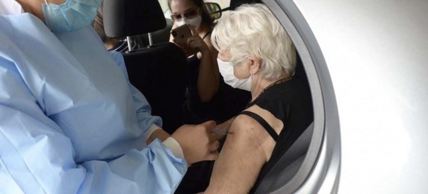 Neste sábado será concluída a vacinação de pessoas com mais de 60 anos e trabalhadores da área de saúde