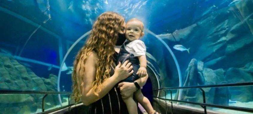 Até o dia 31 de maio, as mães não pagam a entrada no aquaviário, desde que visitem o atrativo acompanhada de filhos pagantes. Para participar, é necessário preencher um cadastro