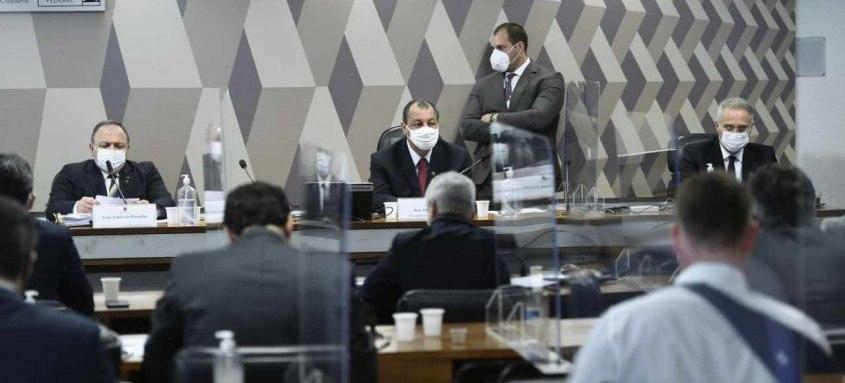 O ex-ministro da Saúde era um dos nomes mais esperados na CPI que tenta explicar os problemas durante a pandemia