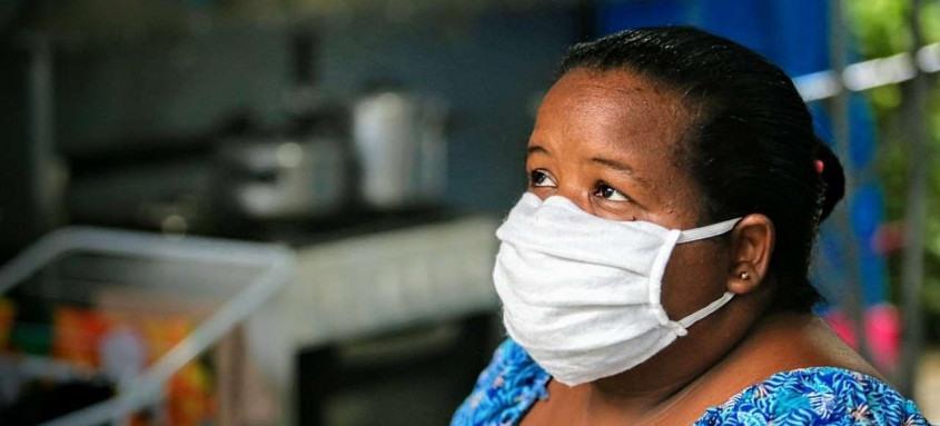 Por meio do SuperaRJ famílias como a de Jackeline (foto), que perderam os empregos durante a pandemia da Covid-19, poderão ter acesso à auxílio financeiro