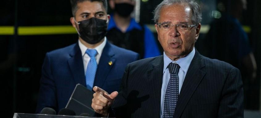 Senador Marcos Rogério se reuniu com o ministro Paulo Guedes