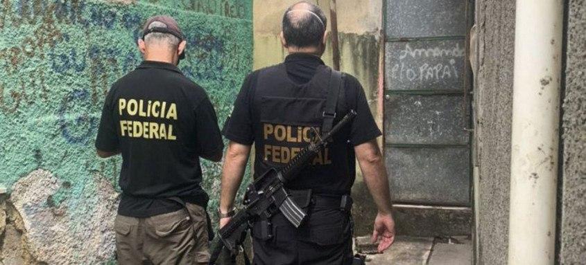 Ação cumpre mandado de busca expedido pela 4ª Vara Federal do Rio