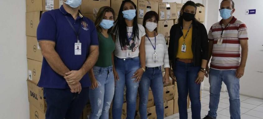 Saúde de São Gonçalo recebe doação de equipamentos do Inca