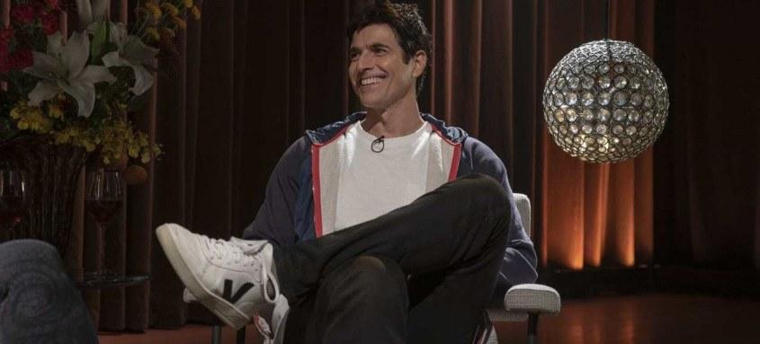 Reynaldo Gianecchini é o convidado desta sexta do programa Hora de Naná