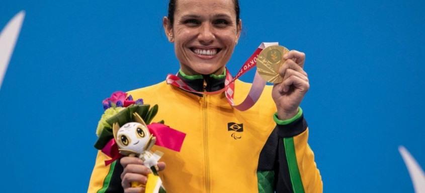 Os atletas já subiram sete vezes ao pódio nesta edição da Paralimpíada