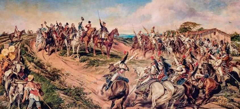 Independência do Brasil,Pedro Américo,Gravuras, imagens antigas,independência