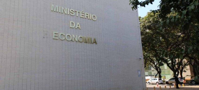 MInistério da Economia na Esplanada dos Ministérios em Brasília