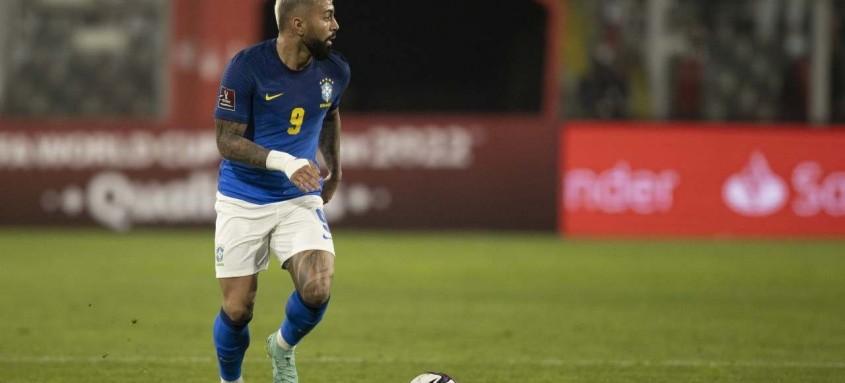 Gabigol luta para voltar a marcar com a camisa da Seleção Brasileira