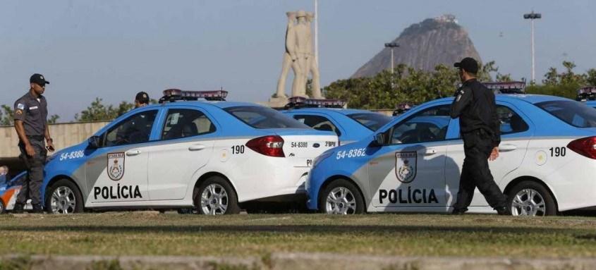 São 2,5 mil policiais no patrulhamento até terça-feira