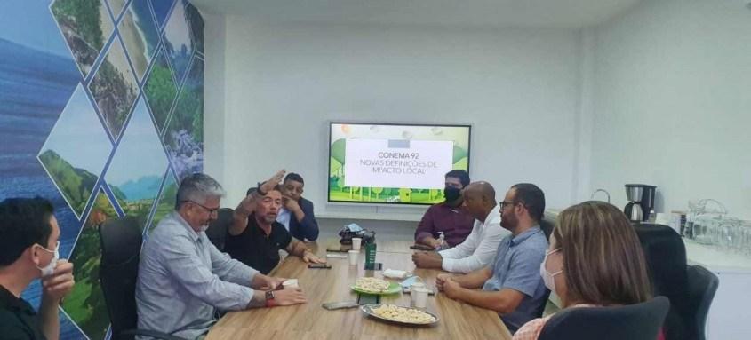 O encontro reuniu representantes das cidades de Mangaratiba, Itaguaí, Angra dos Reis, Paraty e Rio Claro