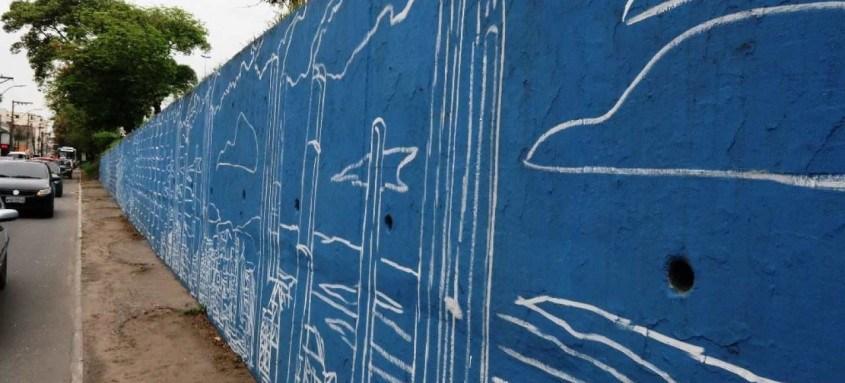 Segunda pintura irá remontar à essência do bairro, explica Marcelo Eco